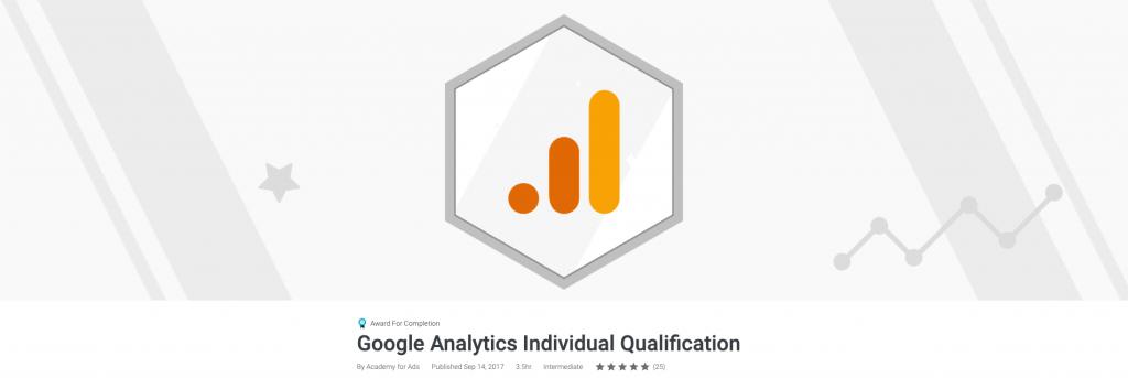 شهادة Google Analytics IQ
