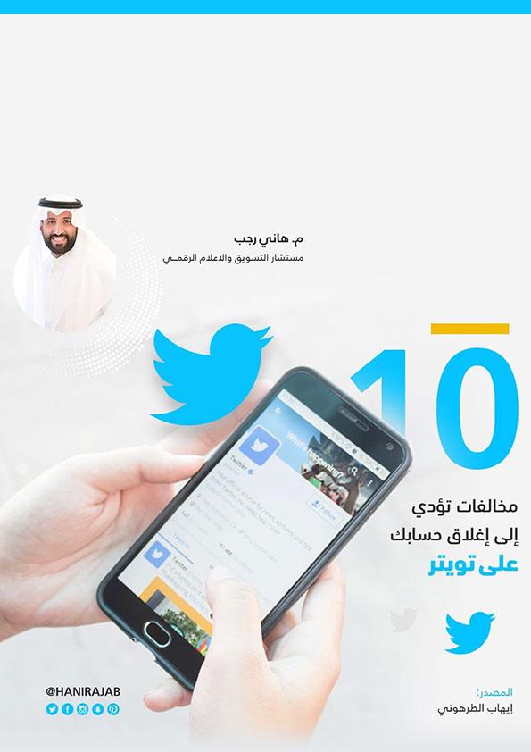 10 مخالفات تؤدي إلى إغلاق حسابك على تويتر