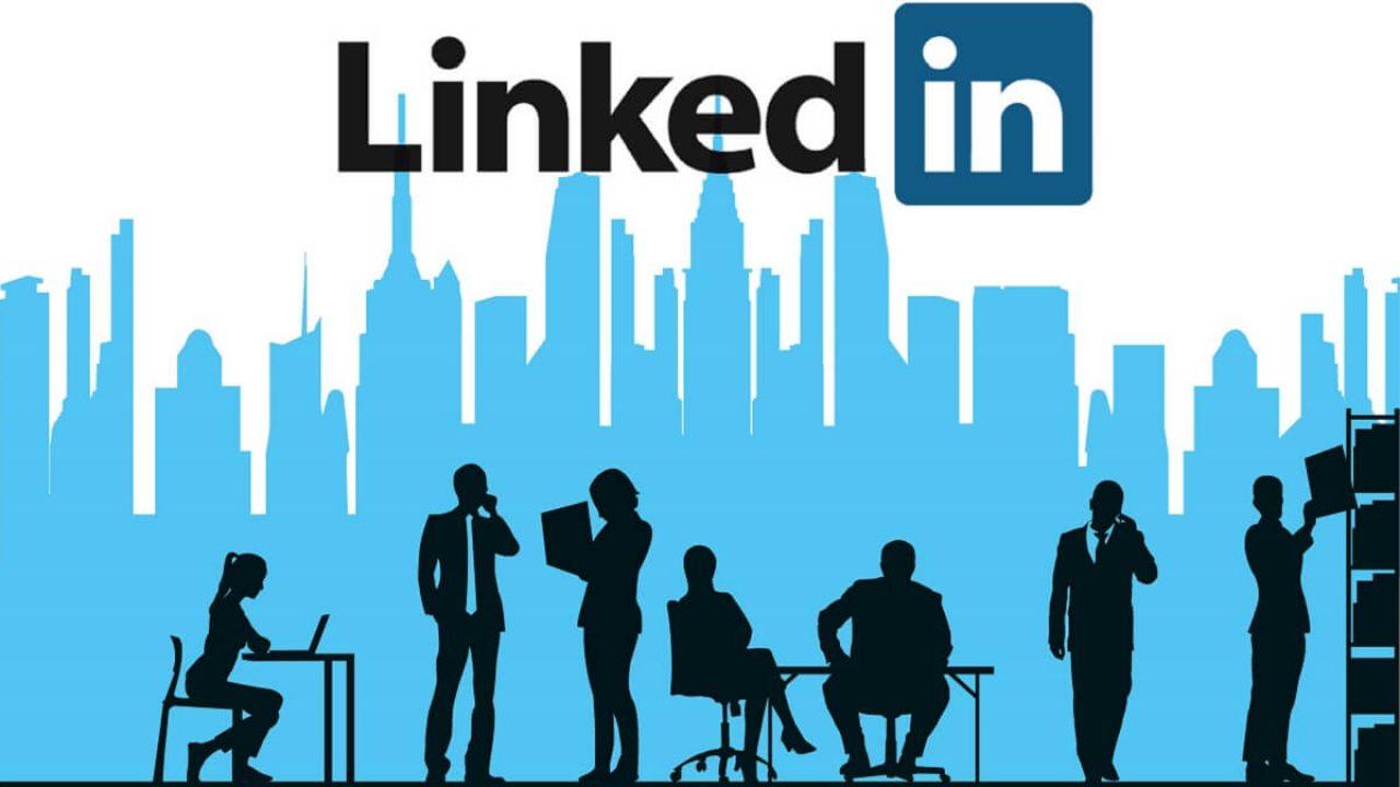 أنواع التجارة الإلكترونية منصة Linkedin
