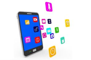 التسويق الإلكتروني عبر تطبيقات الهواتف الذكية